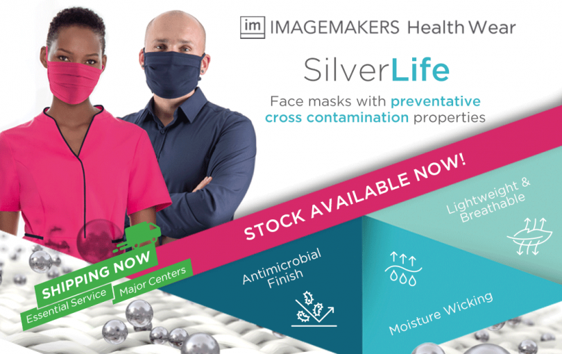 Face masks with preventative cross contamination properties.