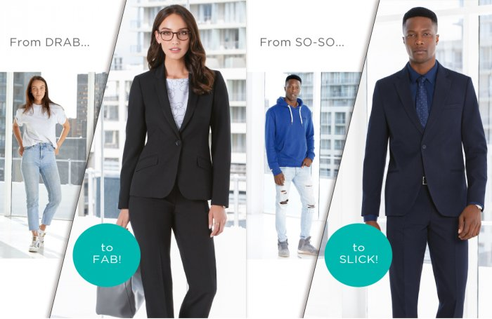 Dress for success and feel like part of a team with Imagemakers Corporate Wear collection for ladies and mens wear