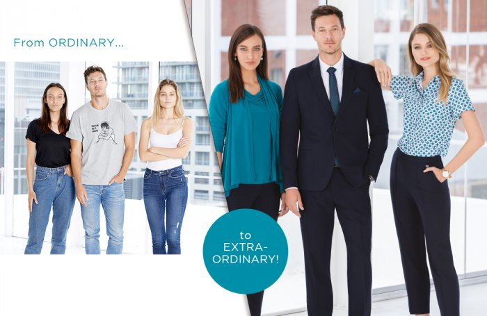 Enhance your team from ordinary to extra-ordinary with Imagemakers Corporate Wear collections