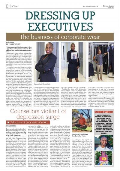 Botswana Guardian - 30 July 2021 - Lifestyle