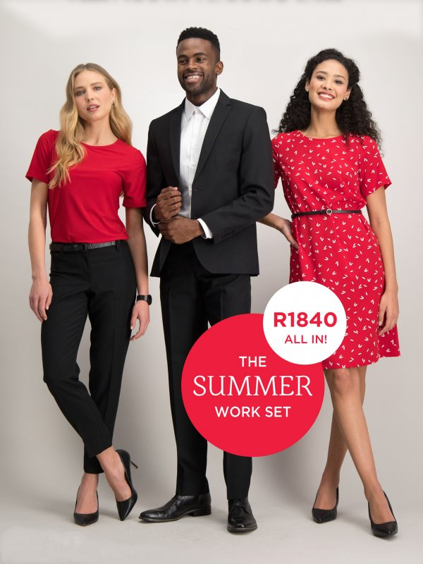 Imagemakers Corporate Wear promotion - The Summer Work Set