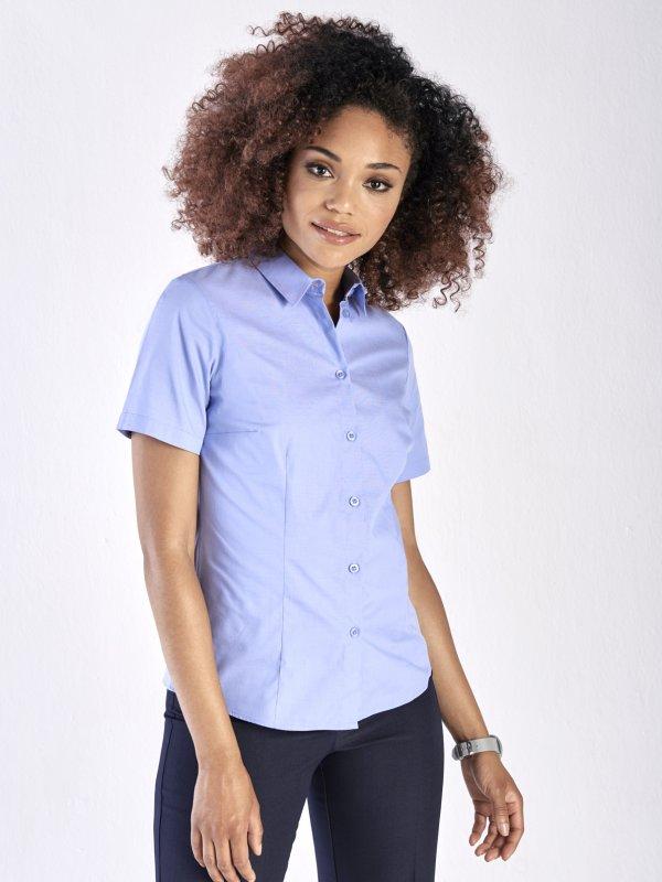 Classic , basic short sleeve Cotton Rich Shirt.