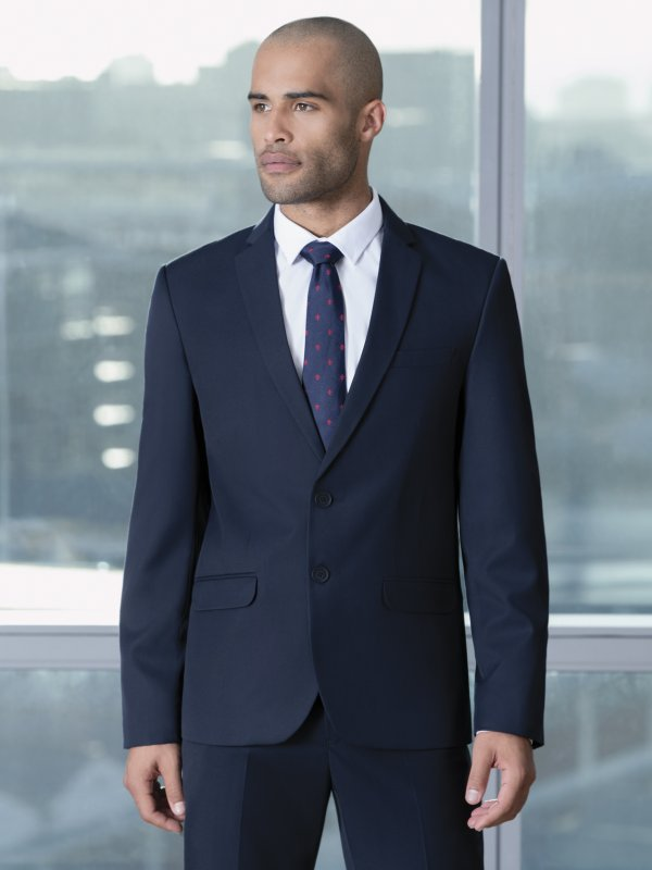 Fitted, Lined Slim fit blazer. Approx. 75cm centre back length
