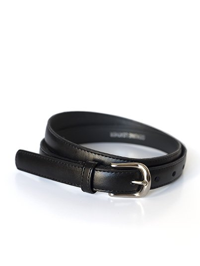 Ladies Genuine Leather 20mm , with a polished round metallic buckle. 100% Leather