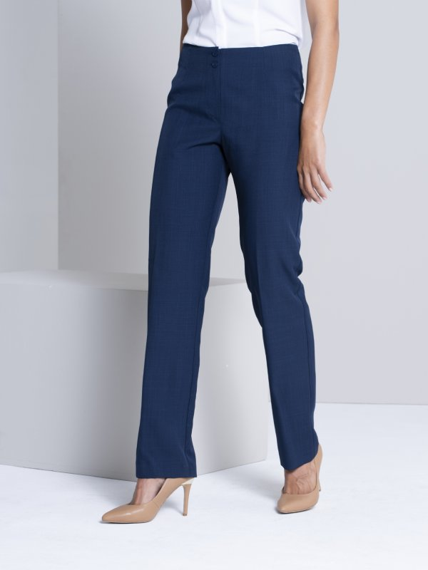 Classic Fit pants with a regular rise and a straight leg. Approx. 81cm inner leg. ** Not all colours are on sale **