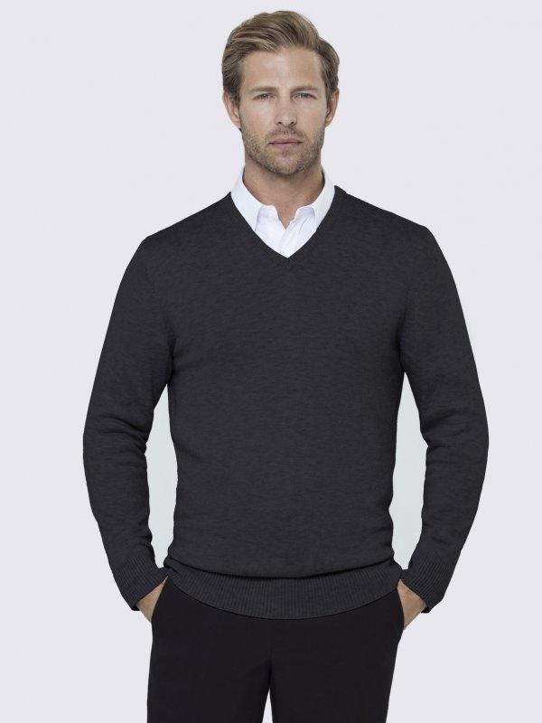 Long Sleeve V-neck, Comfy Fit