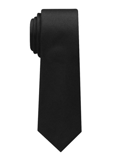 100% Polyester tie with adjustable neck strap, 7cm slim tie