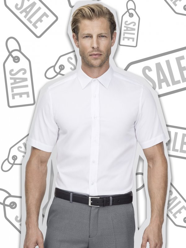 Slim fit, short sleeve shirt