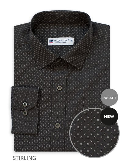 Classic Fit, long sleeve shirt with front pocket details. Approx. 75cm centre back length on a medium